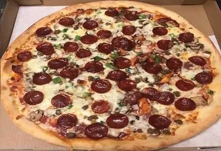 Napoli Pizza Menu